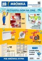 Gazetka promocyjna PSB Mrówka - Przygotuj dom na zimę - Rypin
