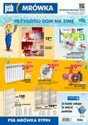 Gazetka promocyjna PSB Mrówka - Przygotuj dom na zimę - Rypin - ważna do 30-12-2018