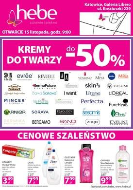 Gazetka promocyjna Hebe - Otwarcie - Katowice