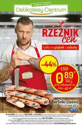 Gazetka promocyjna Delikatesy Centrum, ważna od 08.11.2018 do 14.11.2018.