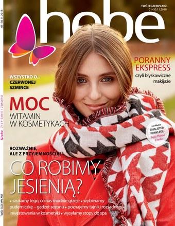Gazetka promocyjna Hebe, ważna od 01.11.2018 do 30.11.2018.