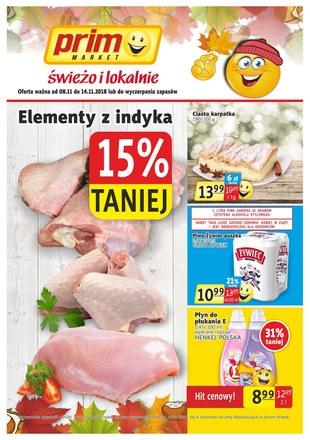 Gazetka promocyjna Prim Market, ważna od 08.11.2018 do 14.11.2018.