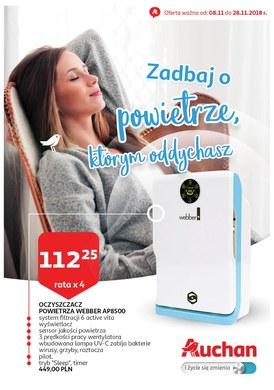 Gazetka promocyjna Auchan - Zadbaj o powietrze, którym oddychasz