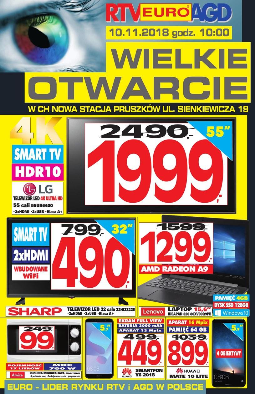 RTV EURO AGD: 1 gazetka