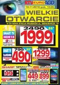 Gazetka promocyjna RTV EURO AGD - Otwarcie - Pruszków  - ważna do 15-11-2018