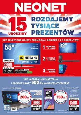 Gazetka promocyjna Neonet, ważna od 08.11.2018 do 21.11.2018.