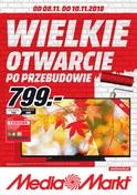 Gazetka promocyjna Media Markt - Wielkie otwarcie po przebudowie - Kraków - ważna do 10-11-2018