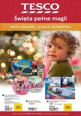 Gazetka promocyjna Tesco Hipermarket - Święta pełne magii