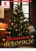 Gazetka promocyjna Kaufland - Świąteczne dekoracje  - ważna do 14-11-2018
