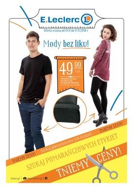 Gazetka promocyjna E.Leclerc - Mody bez liku - Katowice