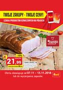 Gazetka promocyjna Twój Market - Twoje zakupy - Twoje ceny  - ważna do 13-11-2018