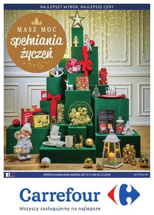 Gazetka promocyjna Carrefour, ważna od 13.11.2018 do 02.12.2018.