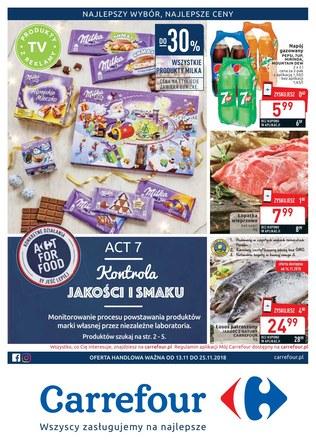 Gazetka promocyjna Carrefour, ważna od 13.11.2018 do 25.11.2018.