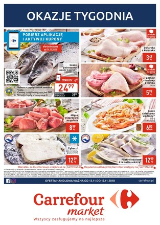 Gazetka promocyjna Carrefour Market, ważna od 13.11.2018 do 19.11.2018.