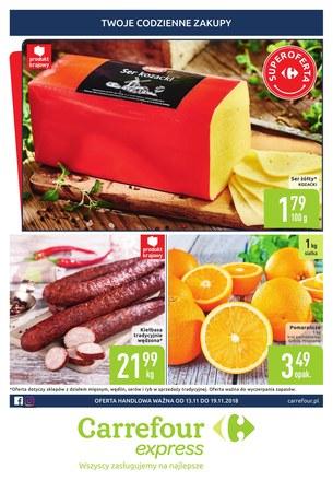 Gazetka promocyjna Carrefour Express, ważna od 13.11.2018 do 19.11.2018.