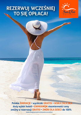 Gazetka promocyjna Sun&Fun Holidays - Rezerwuj wcześniej