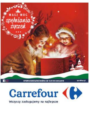 Gazetka promocyjna Carrefour, ważna od 13.11.2018 do 24.12.2018.