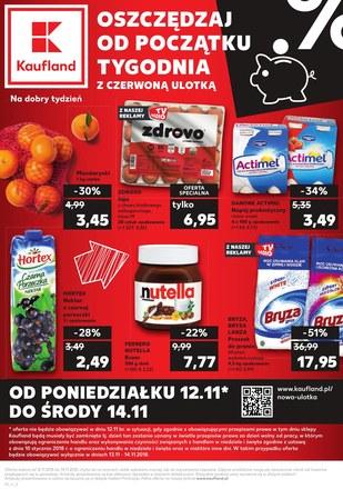 Gazetka promocyjna Kaufland, ważna od 12.11.2018 do 14.11.2018.