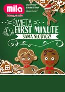 Gazetka promocyjna MILA - Święta First Minute