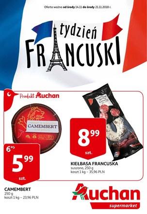 Gazetka promocyjna Auchan, ważna od 14.11.2018 do 21.11.2018.