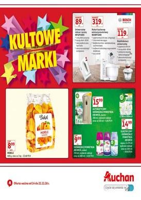 Gazetka promocyjna Auchan - Kultowe marki
