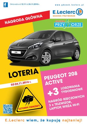 Gazetka promocyjna E.Leclerc, ważna od 12.11.2018 do 24.11.2018.