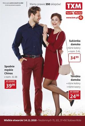 Gazetka promocyjna Textil Market, ważna od 14.11.2018 do 27.11.2018.