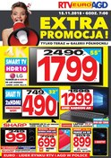 Gazetka promocyjna RTV EURO AGD - Extra promocja! - Warszawa - ważna do 15-11-2018