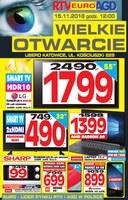 Gazetka promocyjna RTV EURO AGD - Wielkie otwarcie - Katowice