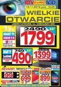 Gazetka promocyjna RTV EURO AGD - Wielkie otwarcie - Katowice  - ważna do 15-11-2018