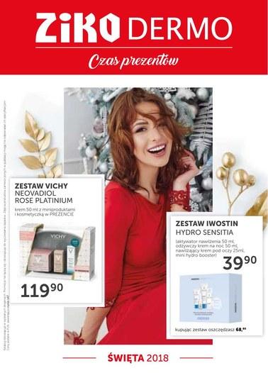 Gazetka promocyjna Ziko Dermo , ważna od 15.11.2018 do 31.12.2018.