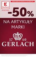 Gazetka promocyjna Kaufland - Na artykuły marki Gerlach