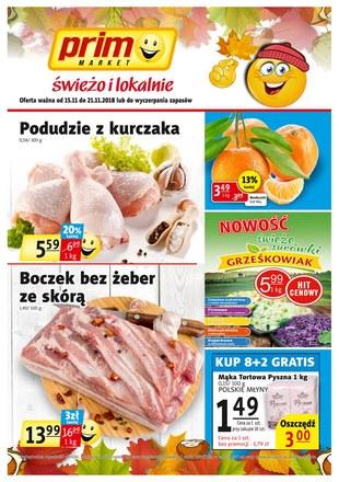 Gazetka promocyjna Prim Market, ważna od 15.11.2018 do 21.11.2018.