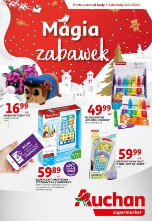 Gazetka promocyjna Auchan, ważna od 07.11.2018 do 28.11.2018.