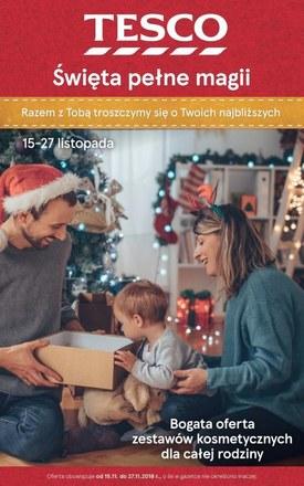 Gazetka promocyjna Tesco Hipermarket, ważna od 15.11.2018 do 27.11.2018.