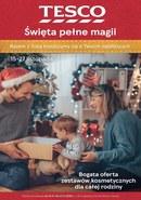 Gazetka promocyjna Tesco Hipermarket - Święta pełne magi