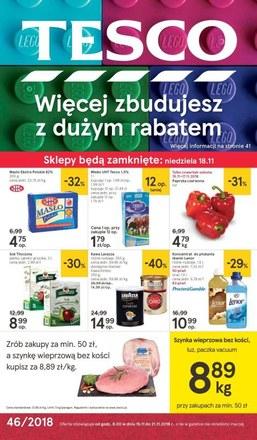 Gazetka promocyjna Tesco Hipermarket, ważna od 15.11.2018 do 21.11.2018.