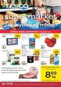 Gazetka promocyjna Tesco Supermarket - Jak wydawać  mniej? - ważna do 21-11-2018