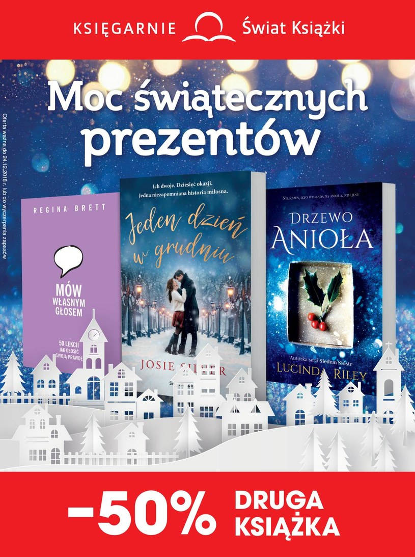 Gazetka promocyjna Księgarnie Świat Książki - wygasła 29 dni temu