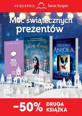 Gazetka promocyjna Księgarnie Świat Książki - Moc świątecznych prezentów