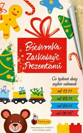 Gazetka promocyjna Biedronka, ważna od 15.11.2018 do 19.12.2018.