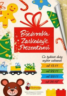 Gazetka promocyjna Biedronka - Biedronka zaskakuje prezentami