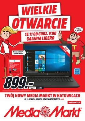 Gazetka promocyjna Media Markt - Wielkie otwarcie - Katowice