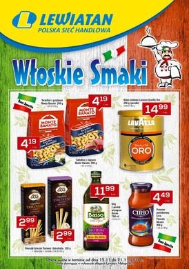 Gazetka promocyjna Lewiatan - Włoskie smaki - Małopolska