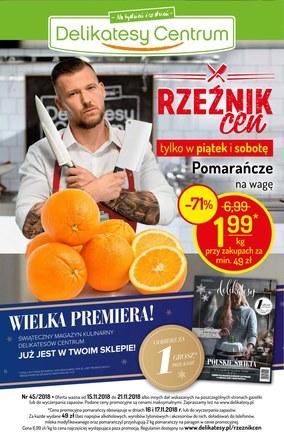 Gazetka promocyjna Delikatesy Centrum, ważna od 15.11.2018 do 21.11.2018.