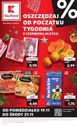Gazetka promocyjna Kaufland, ważna od 19.11.2018 do 21.11.2018.