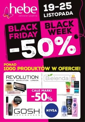 Gazetka promocyjna Hebe - Black Friday