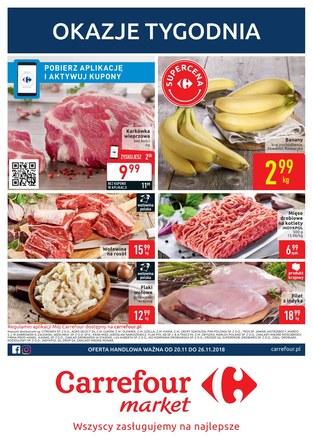 Gazetka promocyjna Carrefour Market, ważna od 20.11.2018 do 26.11.2018.