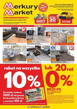 Gazetka promocyjna Merkury Market, ważna od 19.11.2018 do 30.11.2018.