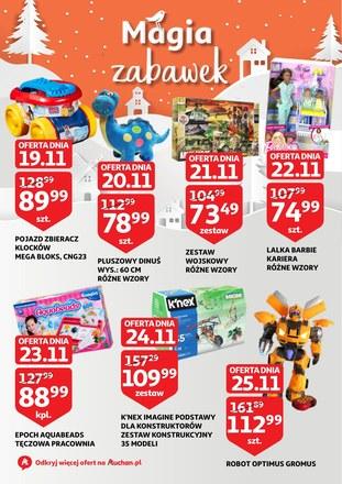 Gazetka promocyjna Auchan, ważna od 19.11.2018 do 25.11.2018.